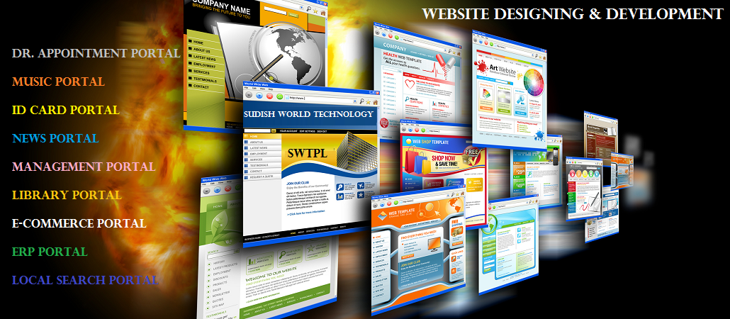 Sudish World : website designer & developer